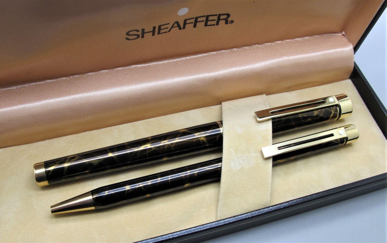 Sheaffer Targa Laca Negro y Oro