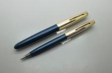 Parker 51 Teal Blue