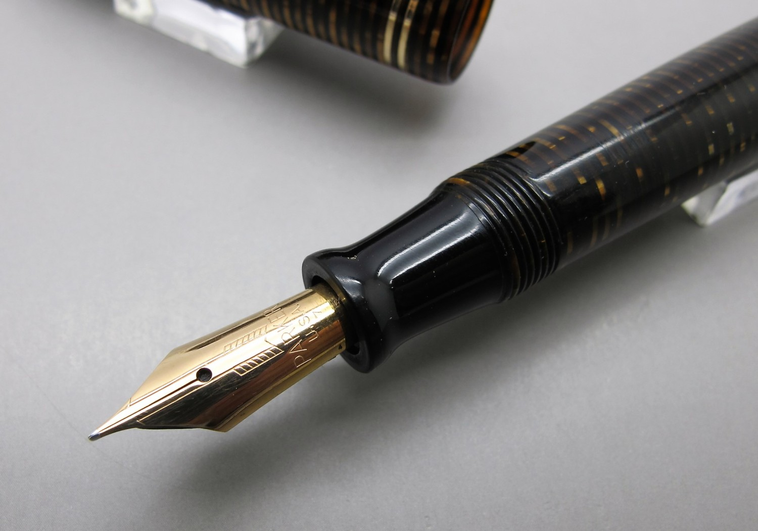 Parker Vacumatic Junior Celuloide Marrón