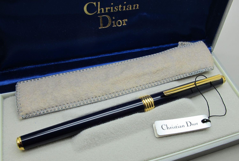 Christian Dior Plumín Oro 14K