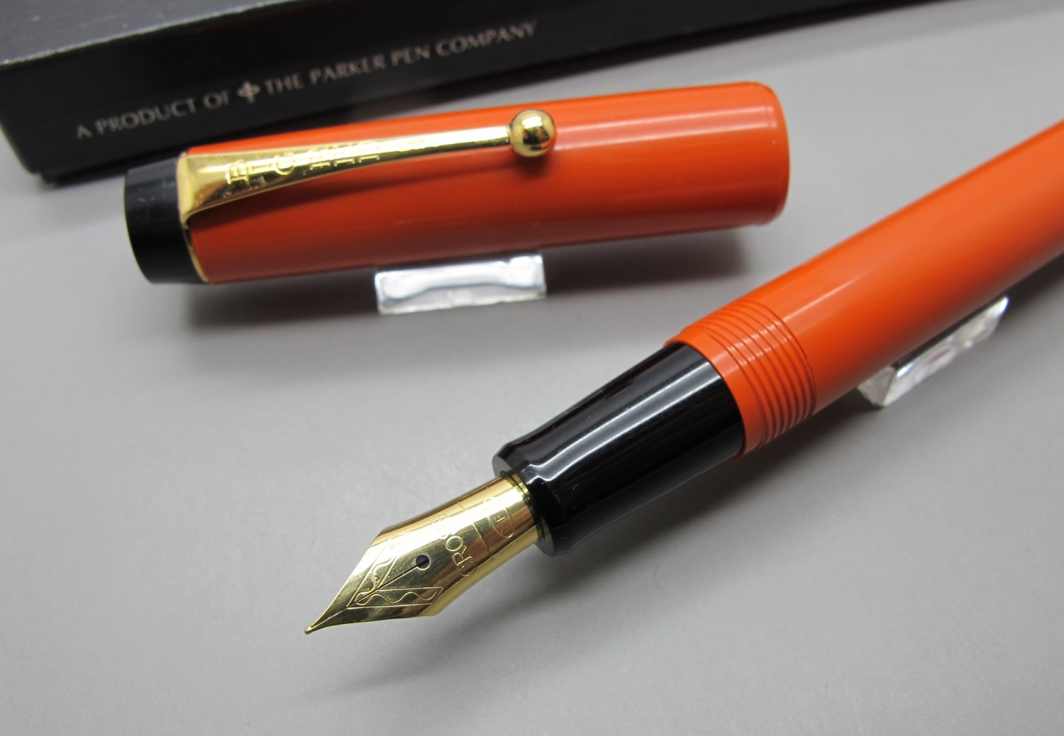 Parker Big Red Color Naranja Dúo