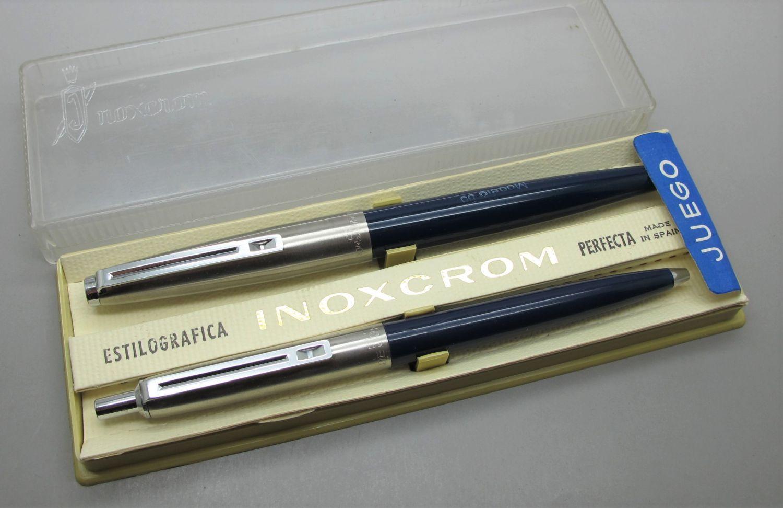 Inoxcrom 55 Color Azul Juego