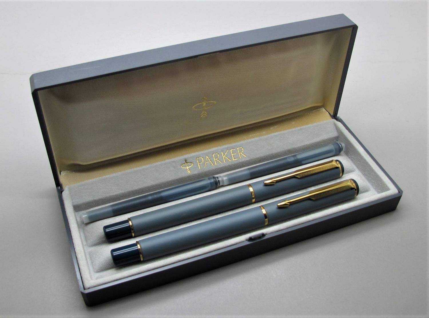 Parker Rialto Blue Grey Set