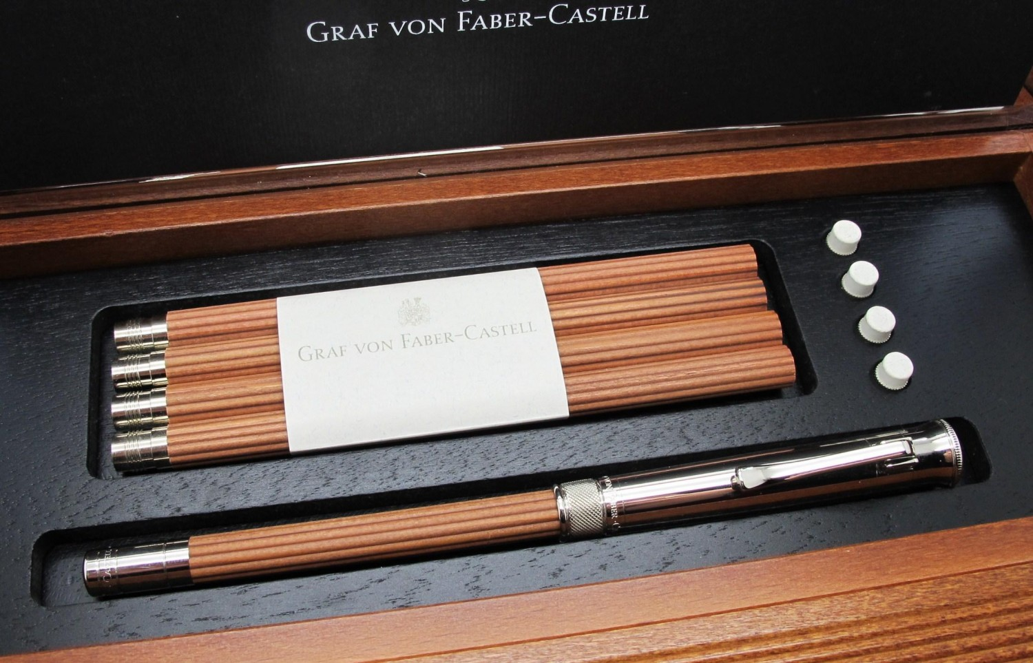 graf von faber castell perfect pencil. Black Bedroom Furniture Sets. Home Design Ideas