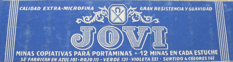 JOVI Tubo Minas Color Azul