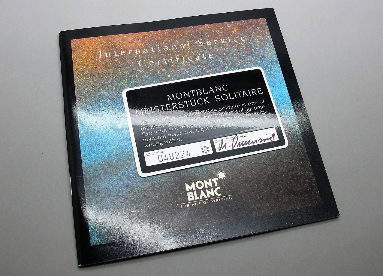 Montblanc Meisterstück Nº146V, Nueva