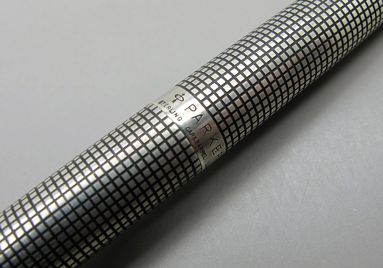 Parker 75 Cisele Sterling Silver