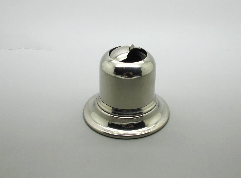 Tintero Metal con Tapa Deslizante