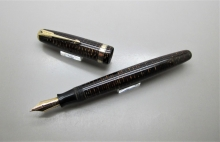Parker Vacumatic Major Celuloide Marrón